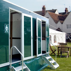 Topflush luxury toilet hire in West Sussex, Surrey and Hampshire